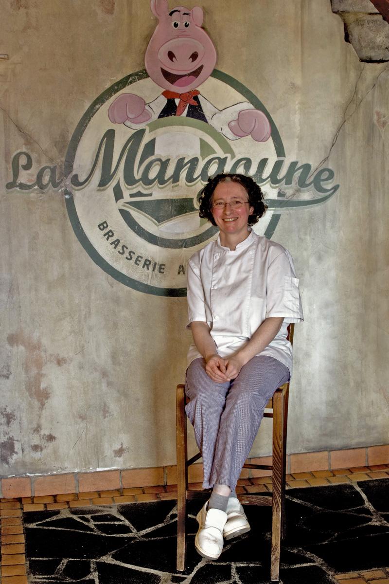 Séverine Chauvard de La Mangoune Andelat / Saint-Flour