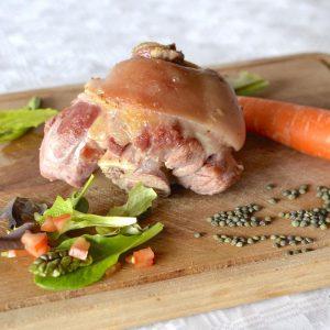 Jarret de porc braisé « Cantalou »