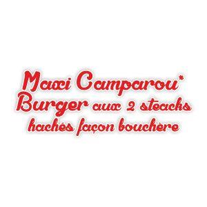 Maxi Camparou* Burger