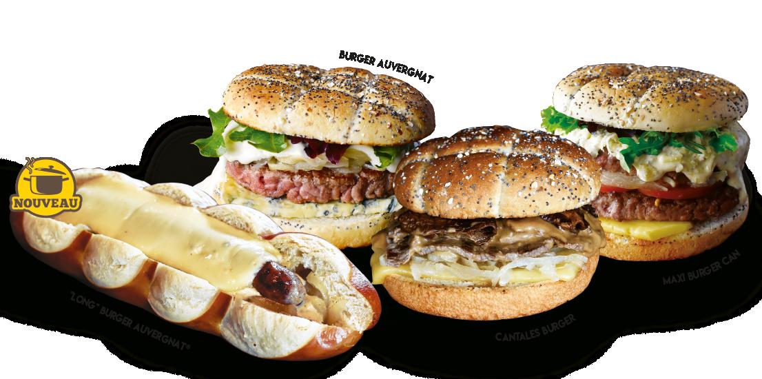 Les plus gourmands, toujours meilleurs les burgers de la Mangoune !