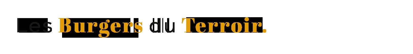 Les Burgers du Terroir
