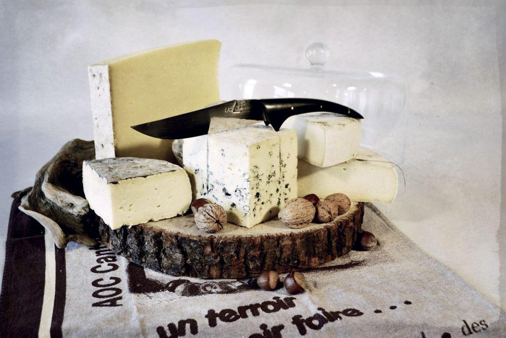 Plateau de fromages à La Mangoune