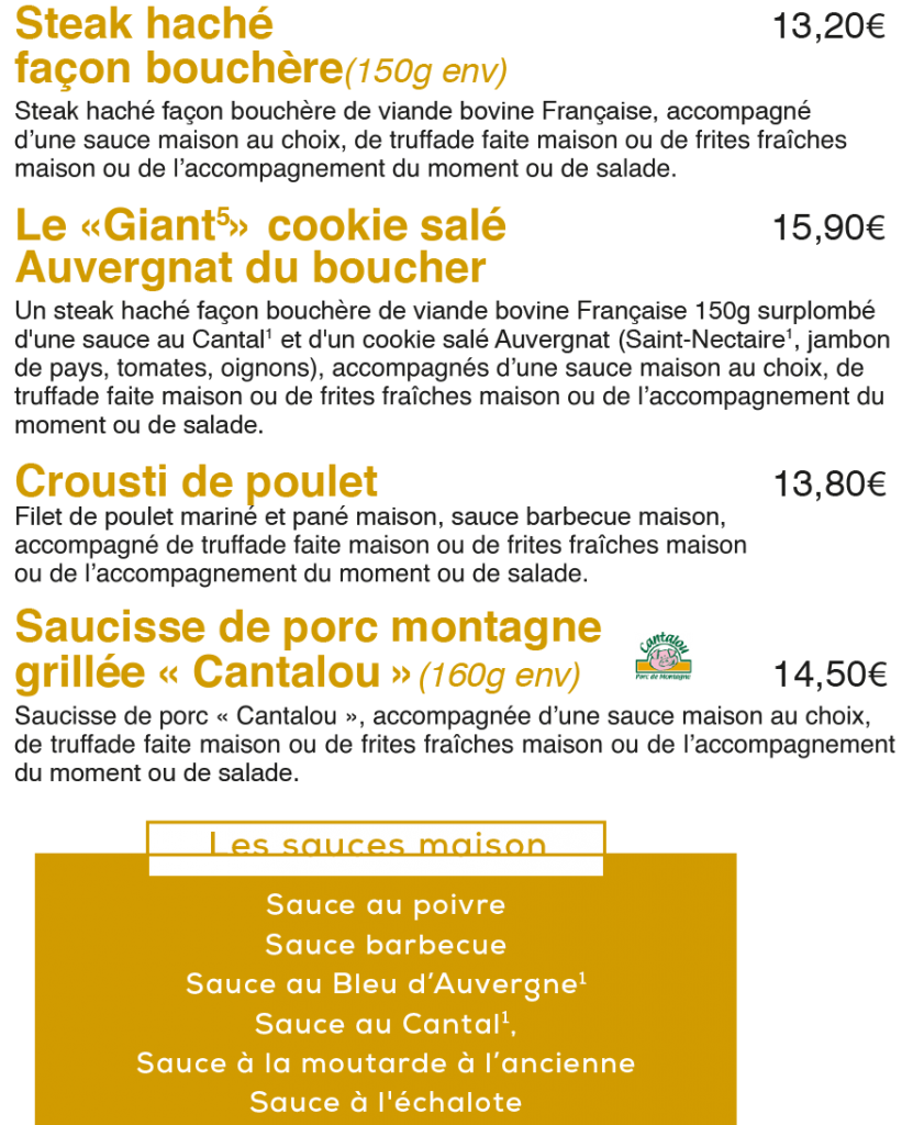 Le Coin du Boucher à La Mangoune