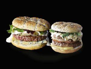 Burger Auvergnat et Maxi Burger Cantalien / La Mangoune