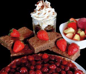 Pâtisseries au chocolat / La Mangoune