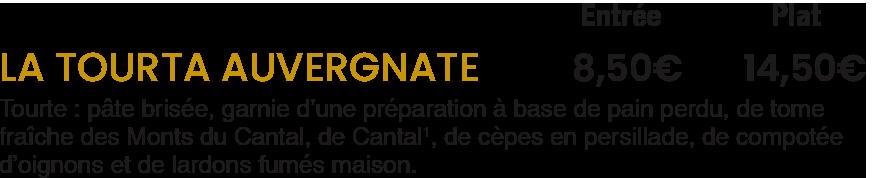 La Tourta / La Mangoune Cantal