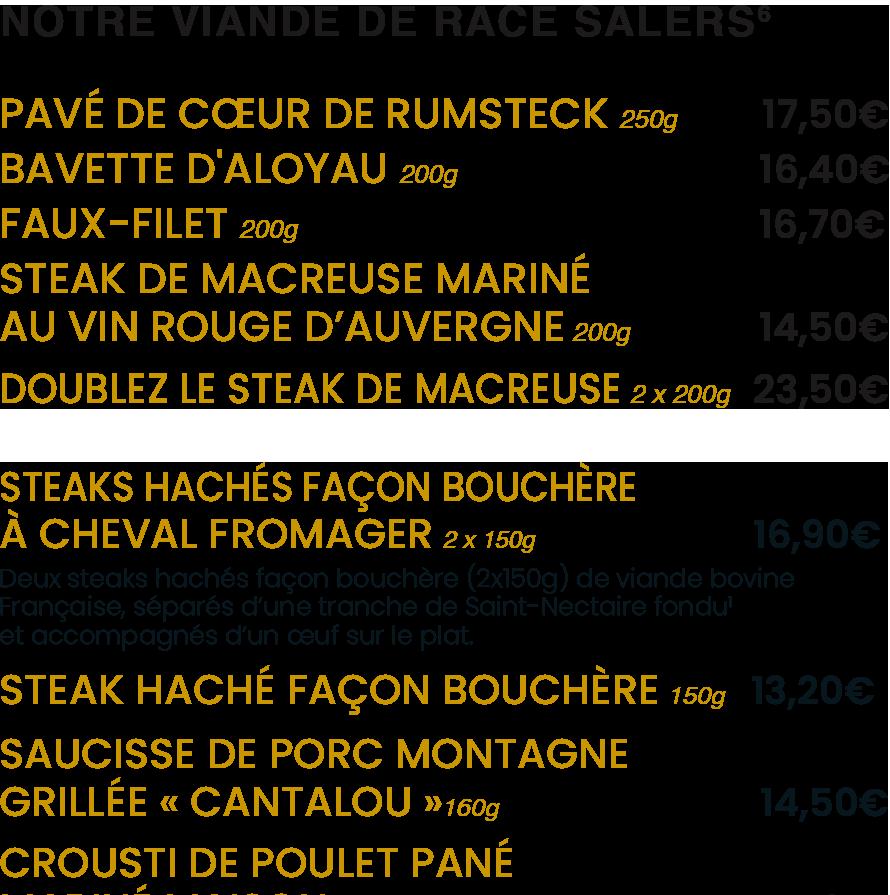 Le Coin du Boucher / La Mangoune