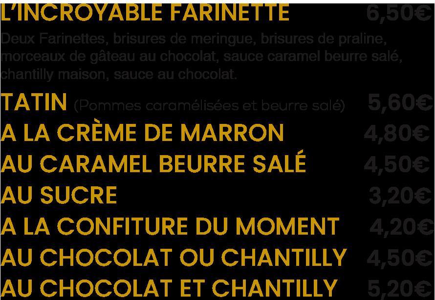 Les Farinettes / La Mangoune